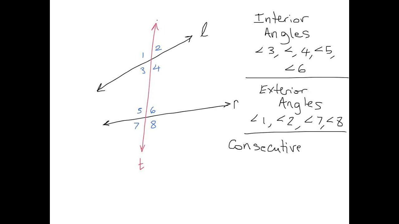 Captivating Transversal Angle Pair Relationship