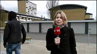 Dansk reporter trakasseras