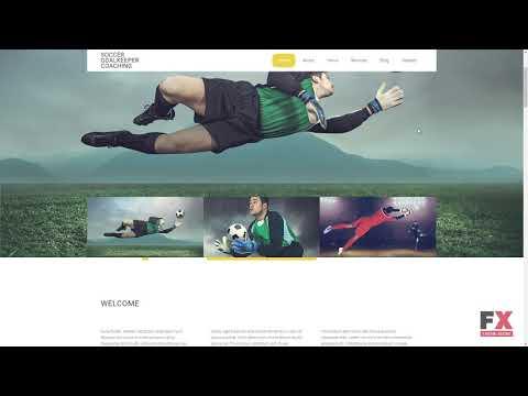 Soccer Responsive Website Template TMT | Free Template  Malik Arnie