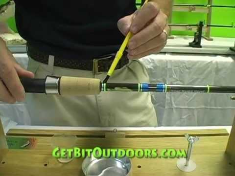Step 9: Epoxy Finish- Rod Building Made Easy
