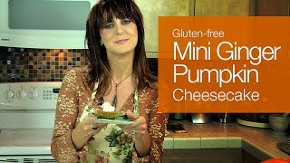 Mini Ginger Pumpkin Cheesecake - Kimtv