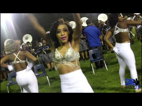 McKinley High School Pantherettes vs CPAA Jazzy Jewels @ Wave Fest (2017)
