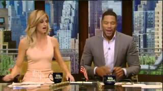 On Live With Kelly and Michael April 21, 2016 : Daniel Dae Kim and Dr. David Agus