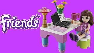 Lego Friends Olivia's Desk Toy Unboxing