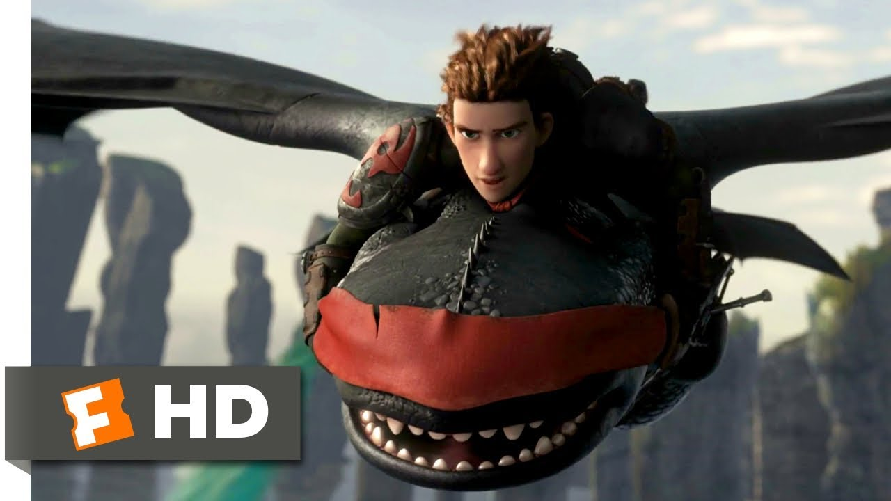 How To Train Your Dragon 2 2014 Rescuing Toothless Scene 9 10 Movieclips Youtube