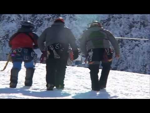 Glacier Victim Search and Rescue Exercise