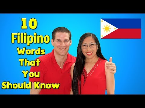 10 Filipino Words You Need to Know...
