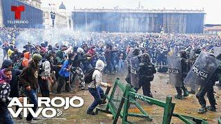 Estallan protestas violentas en Colombia en contra de una reforma tributaria