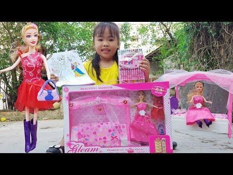 Trò Chơi Bé Vui Búp Bê Công Chúa ❤ ChiChi ToysReview TV ❤ Đồ Chơi Trẻ Em Baby Fun Song Bài Hát