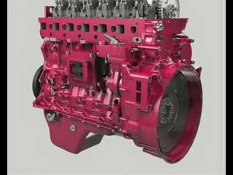 Mack MP7 Assembly Engine Animation  YouTube