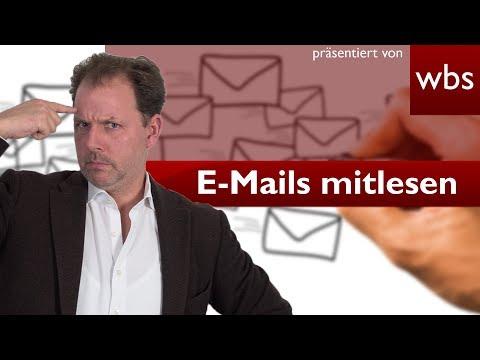 Darf ich heimlich die E-Mails meines Partners lesen? | RA Christian Solmecke