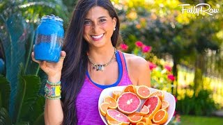 What I Eat in a Work Day! FullyRaw, Vegan, & Low-Fat!
