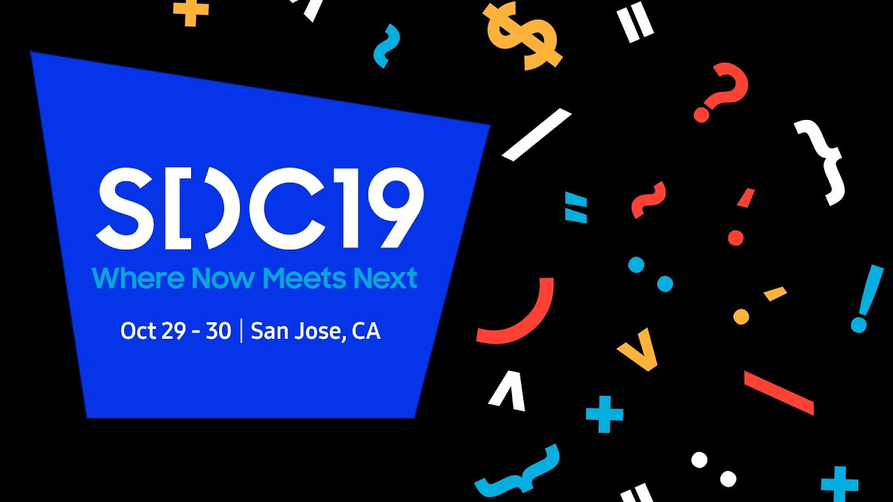 SDC 2019 Keynote: Highlights