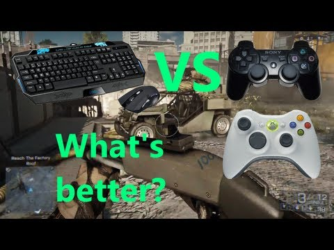 Mouse and Keyboard vs Controller - Easier or Harder?