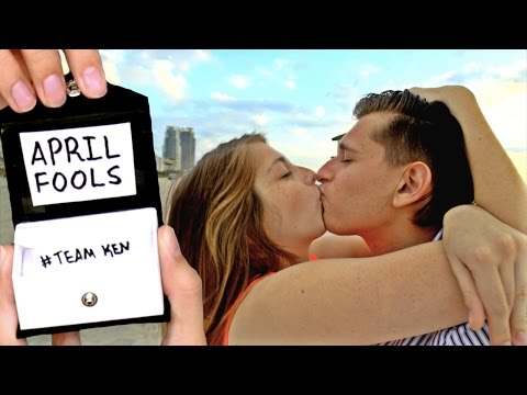 APRIL FOOLS MARRIAGE PROPOSAL PRANK ON GIRLFRIEND!