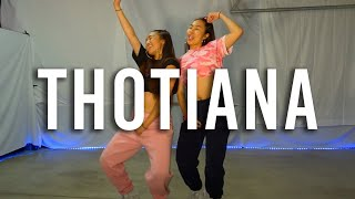 Thotiana by Blueface (DANCE TUTORIAL) | Hicks Sis Choreography