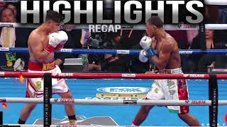Errol Spence vs Mikey Garcia Highlights Recap