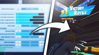 NETJ Reveals His Settings After Getting A 19 Kill Solo Win! Best Console Fortnite Settings!