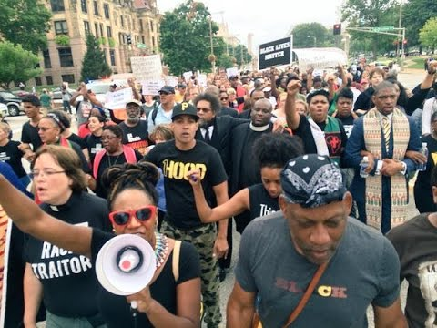 LIVE: Ferguson 'day of civil disobedience' on Mike Brown's shooting anniversary