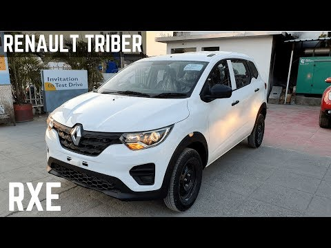 Renault Triber Rxe Base Model Full Detailed Review Interiors Price Features Looks Triber Rxe Youtube