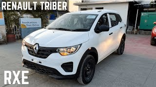 Renault TRIBER RXE Base Model FULL Detailed Review - Interiors, Price, Features, Looks | Triber RXE