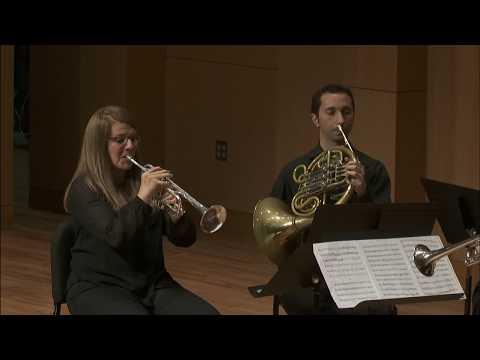 UNT Center Brass Quintet: Plog - Four Sketches for Brass Quintet