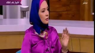 الستات مايعرفوش يكدبوا   سيدة : مش هخرب بيتى عشان جوزى بيخونى فى التليفون شاهد رد فعل مفيدة الغاضب
