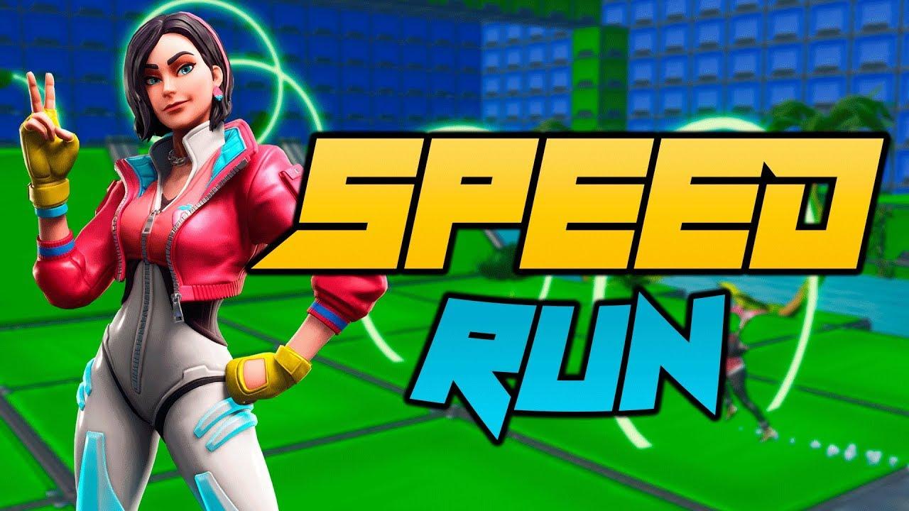 Speed Run Itsdoneyt Fortnite Creative Map Code