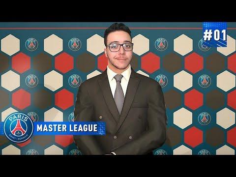 UM NOVO INICIO NO PSG  - MASTER LEAGUE 01  PES 2019