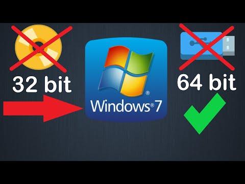 Как перейти с 32 Bit на 64 Bit Windows 7 без флешки или диска и без потери данных
