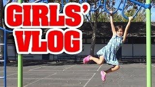 GIRLS' VLOG - Monkey Bar Madness!!!