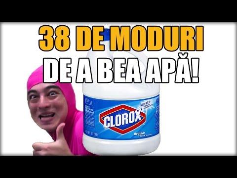 38 DE MODURI DE A BEA APĂ! (PARODIE)