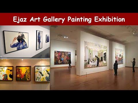 Ejaz Art Gallery Painting Exhibition Lahore Pakistan ll PHENOMENAL TREAT ll Landscape Group Show