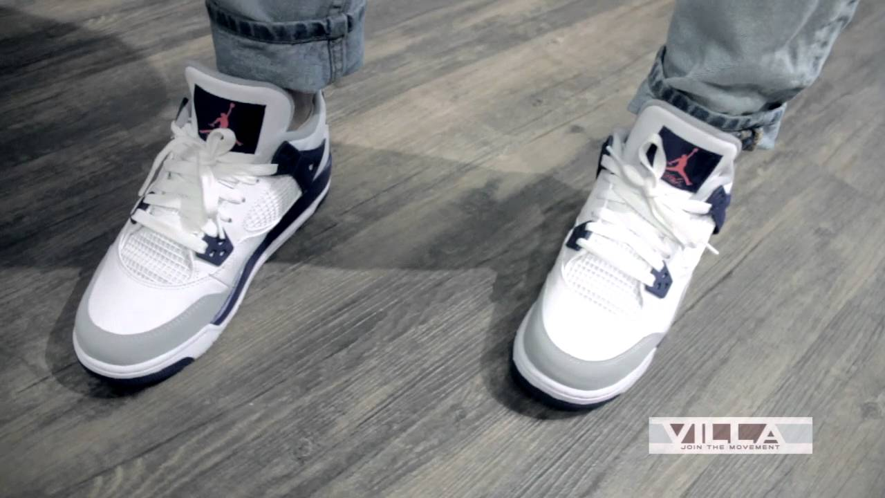 25f62abd3fcaa5 ... netherlands air jordan 4 gs deep royal video preview youtube 4c921 abd77