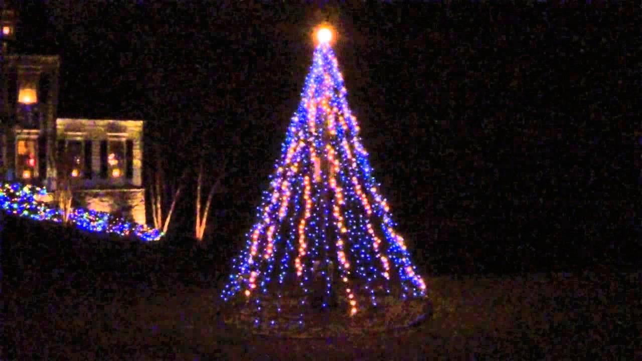 Light O Rama 10 Mega Tree Youtube