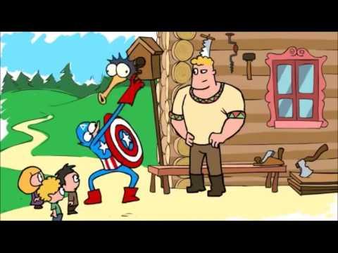 Мультфильм смотреть капитан америка