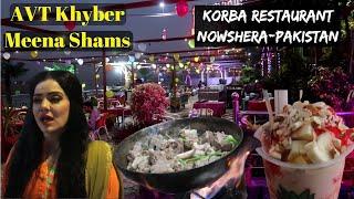 Korba restaurant nowshera and famous ice cream   Pakistani Street Food