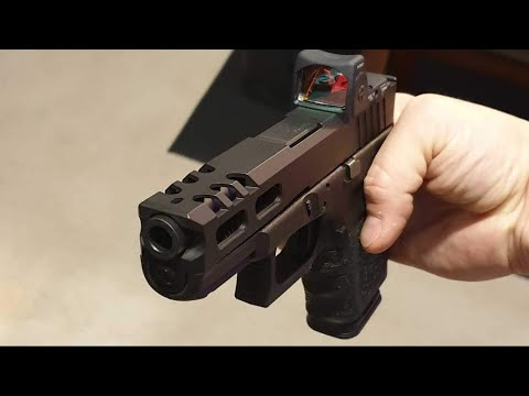 Gorilla Machining Glock 19 Build Your Upper Half Custom Slides with  Trijicon RMR cut out