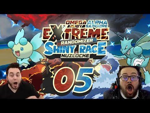 WHAT IS THIS!? EPIC BRAND NEW SHINIES! Pokemon ORAS Extreme Randomizer Shiny Race Nuzlocke Ep 05