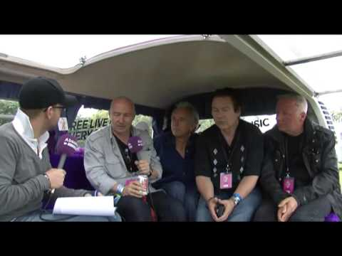 Ultravox interview (part one):Isle of Wight Festival 2009