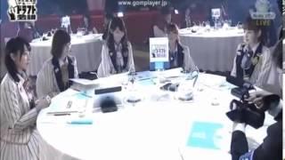 一位指名 須藤凛々花さんのコメント AKBドラフト2013 11月10日 ひかりTV...