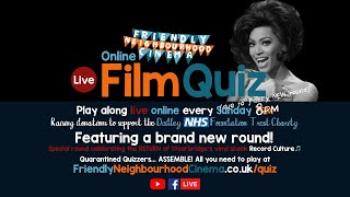 LIVE Online Film Quiz - Sunday 7th June - Friendly Neighbourhood Cinema (PREMIERES AT 9:15PM)