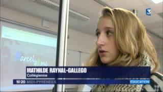 Reportage JT France3 Midi-Pyrénées - 3 novembre 2016