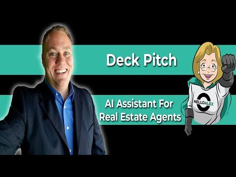 HelloAlex Deck Pitch l Dave Fulk l COO & Founder