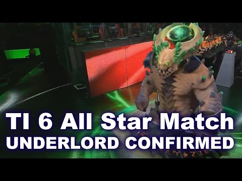 TI 6 All Star Match Underlord Confirmed Dota 2