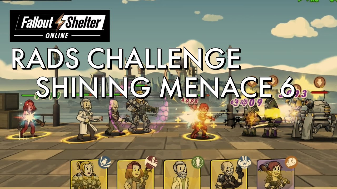 Fallout Vault 14 Roblox Fallout Shelter Online Rads Challenge Shining Menace 6 Youtube