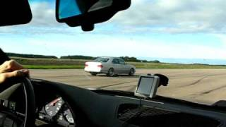 E55 AMG V8 W210 Vs BMW ALPINA B10 Turbo ~ 400 HP