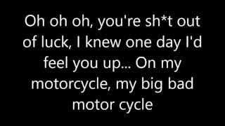 Frankie Cocozza - Motorcycle lyrics