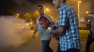 Bloody Clashes As Belarus Protests Continue For Second Night