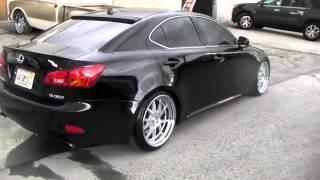 "DUBSandTIRES.com 19"" Inch Concept One CSL 5.5 Hyper Silver Wheels 2008 Lexus IS Rims Miami"